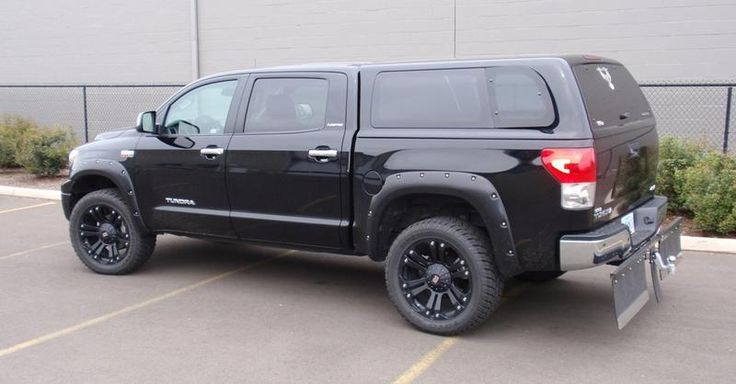 Lifted Toyota Tacoma >> toyota tundra lifted camper shell - Google Search | Cool Autos | Pinterest