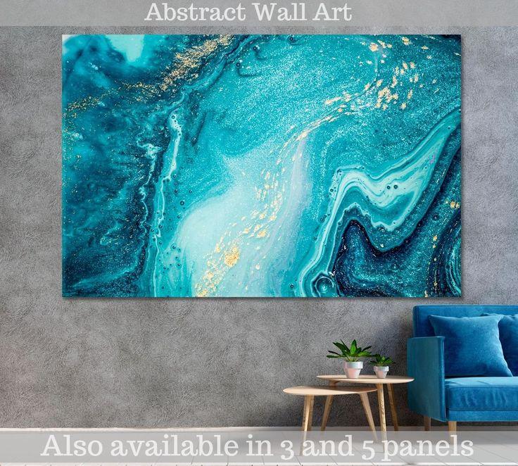 Resin Wall Art, Diy Resin Art, Acrylic Pouring Art, Acrylic Art, Abstract Wall Art, Blue Abstract, Art Moderne, Pour Painting, Ocean Art