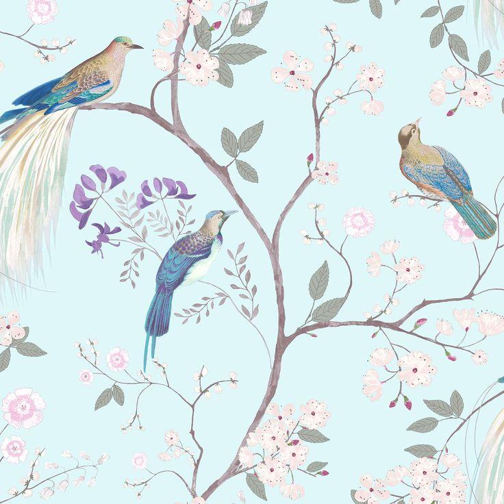 From Midnight To Duck Egg See: Dorma Duck Egg Maiya Wallpaper