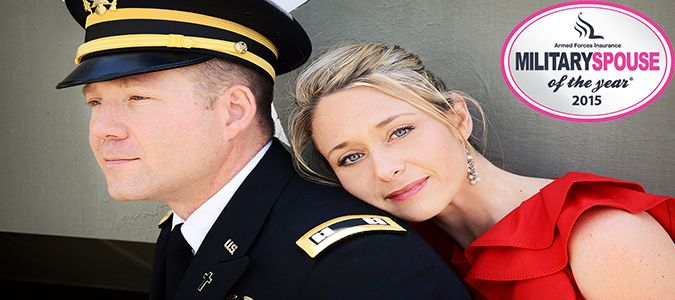 {  CORIE WEATHERS: 2015 ARMED FORCES INSURANCE ARMY SPOUSE OF THE YEAR  } #MilitarySpouse ..... ''Married to: Matthew Weathers SOY Location: Fort Gordon Years as Milspouse: 11''..... http://militaryspouse.com/msoy/corie-weathers-2015-armed-forces-insurance-army-spouse-of-the-year/
