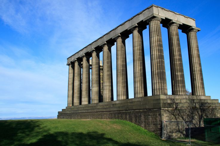 National Monument in Edinburgh, Scotland