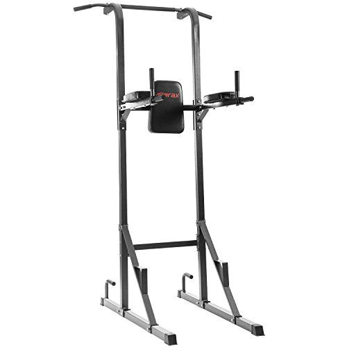 Merax RLS8800 Full Body Power Tower Home Fitness Workout Station (Grey) For Sale https://bestexercisebikes.co/merax-rls8800-full-body-power-tower-home-fitness-workout-station-grey-for-sale/