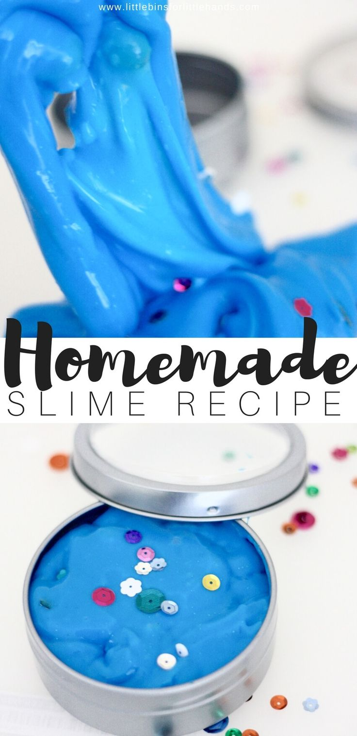 Whoa, slime with borax! Hold the phone; isn't borax powder crazy dangerous? You can read below some more thoughts on the whole slime with borax controversy and you can find our super simple recipe too. Making homemade slime is awesome science for kids and there is almost no reason not to learn how to make slime with borax. HOW TO MAKE SLIME WITH BORAX!