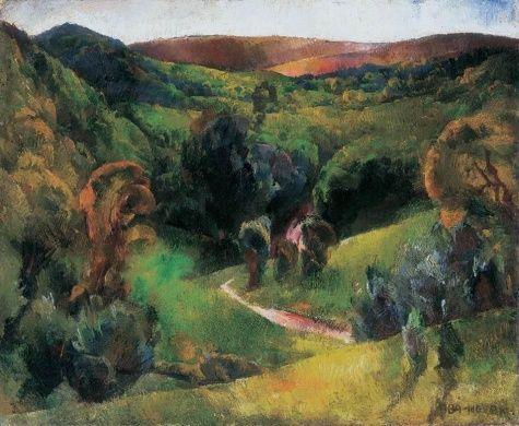 Landscape - Vilmos Aba-Novak