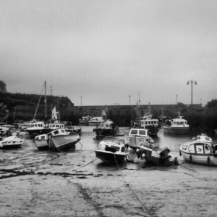 Newquay Harbour August 2012