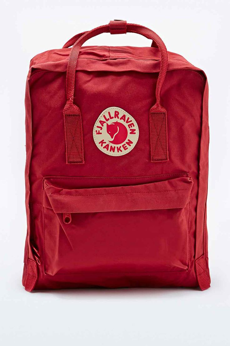 Fjallraven Kanken Classic Backpack in Deep Red  OH MYGOD OR THIS ONE