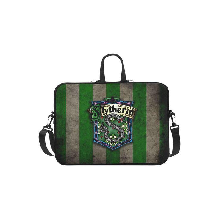 """Slytherin Harry Potter Sleeve Case Messenger Bag for Laptop 10"""" 11"""" 13"""" 14"""" 15"""" 15.6"""" 17"""" and Macbook"""