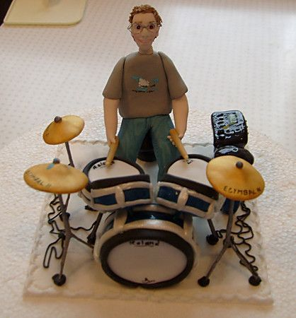 31 Best images about drum inspired wedding cakes on ...