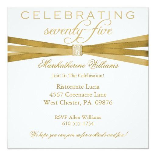 414 best Elegant Birthday Party Invitations images on Pinterest ...