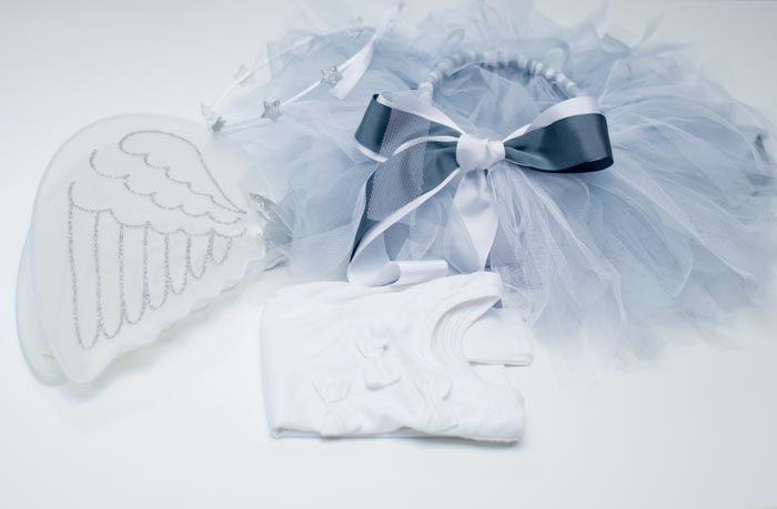 Disfraz de angelito en hora y media