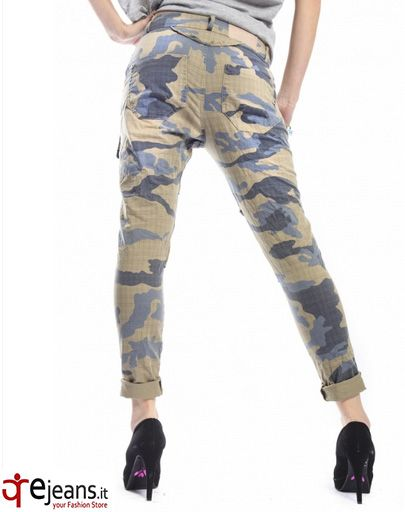 MARYLEY Jeans boyfriend baggy Camouflage VERDE/BLU  MADE IN ITALY BUY NOW!: http://www.ejeans.it/index.php?id_product=1592&controller=product&id_lang=6&search_query=camo&results=3