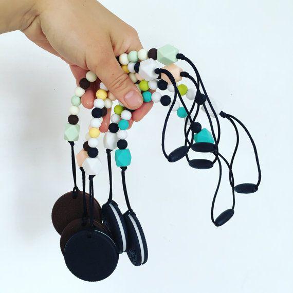 oreo teether/ silicone teether/ silicone chain/ koekjes ketting/ cookie teether