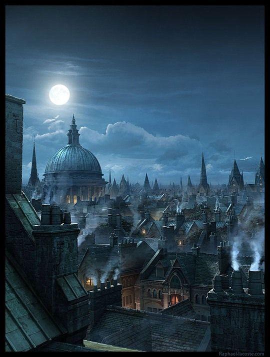 Insane Fantasy / Sci-fi Art by Raphael Lacoste