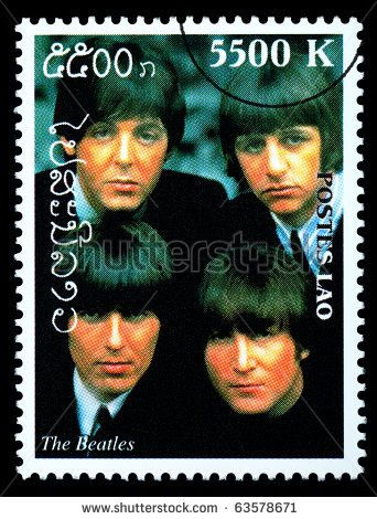 POSTAGE STAMPS: Laos Stamp 2000 - The Beatles