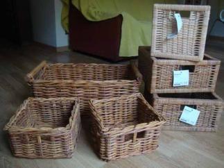Se venden seis cestas de mimbre ikea segunda mano serie for Cestas mimbre ikea
