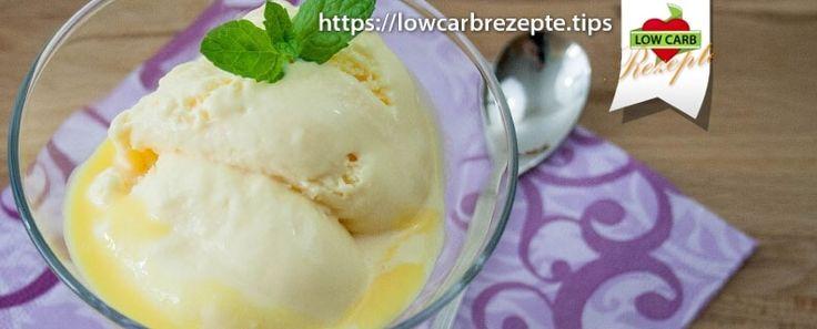 Eierliköreis Low Carb - So genial lecker schmeckt selbstgemachtes Eis. Das Low Carb Eis ist mit wenigen Zutaten gezaubert & ein absoluter Hit