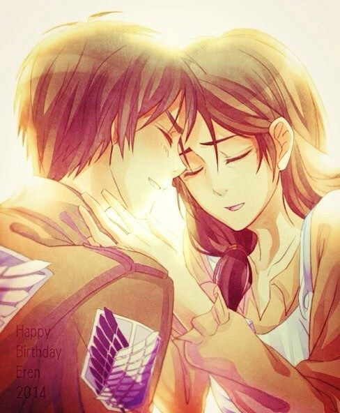 attack on titan mikasa and eren relationship help