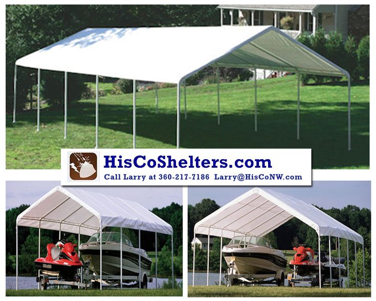 All Weather Shield 18w EZ Up Canopy Tent Instant Portable Shade Shelter  Party Carport Patio Cover, Party Tent, Beach Tents. **See:  Http://hiscoshelters.com/ ...