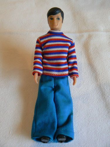 PALITOY PIPPA DOLL VINTAGE 1970s PIPPA'S BOYFRIEND PETE VGC WITH OUTFIT | eBay