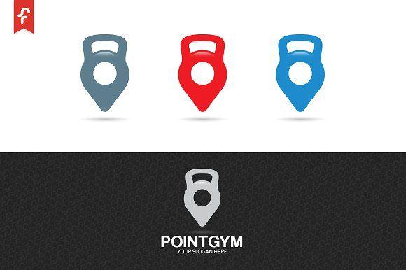 Point Gym Logo Templates Modern