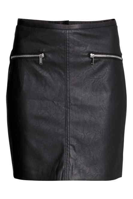 jupe droite simili HM 19.99