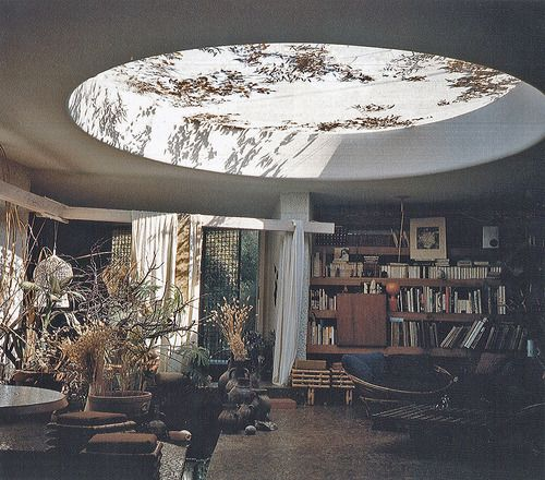 Jean-François Zevaco - Architect's own house and studio, Casablanca 1979. Via.