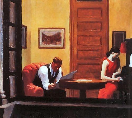 , 에드워드 호퍼(Edward Hopper), 1932, 캔버스에 유화.