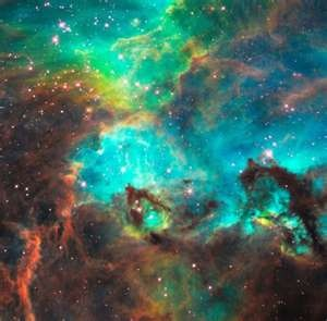 Picture from the Hubble telescope -- Love the blues!