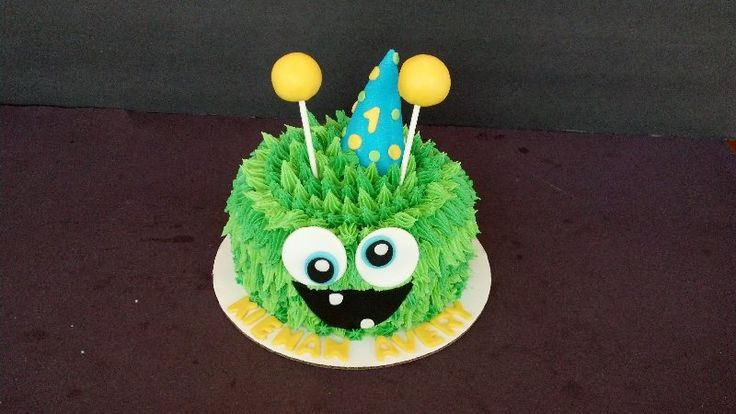 Monster Smash Cake