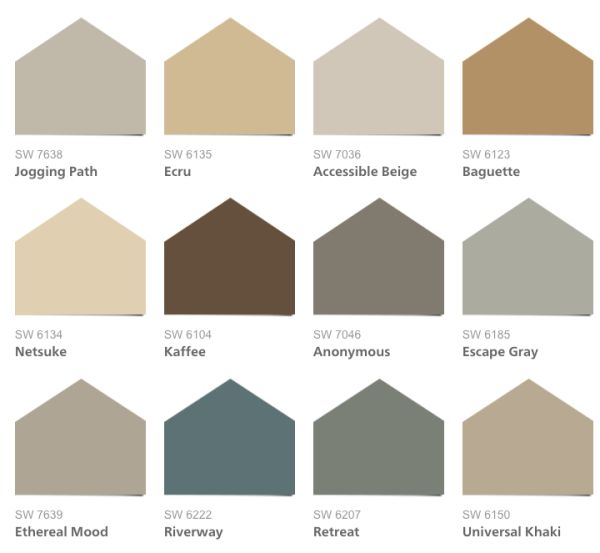 Trending Paint Colors - Home Design
