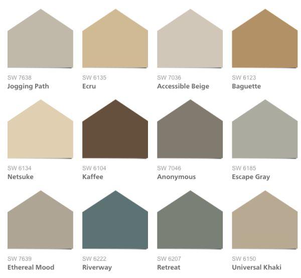 Trending Paint Colors - Home Design