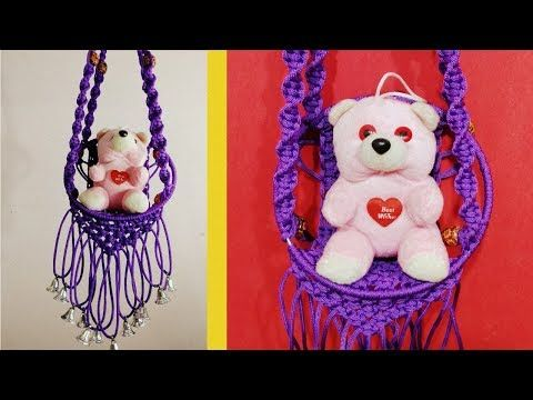 DIY BOHO MACRAME WALL HANGING | Diana Moore - YouTube