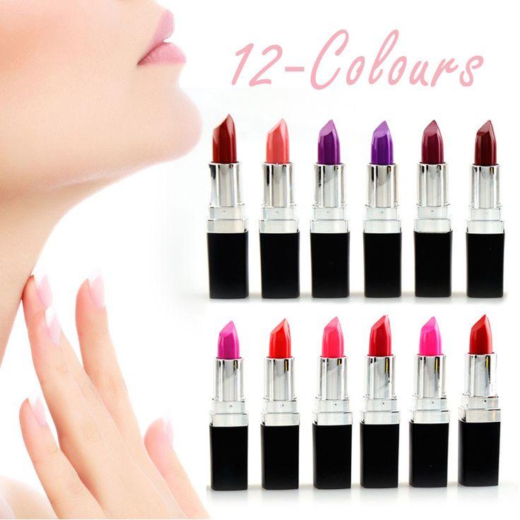 http://ali.pub/ovbjp  2016 Luxury Qibest 12 Colors Lipstick Vampire Grape Purple Dark Black Lipstick Vampire Style Matte Lipstick Masquerade Comestic-in Lipstick from Health & Beauty on Aliexpress.com | Alibaba Group