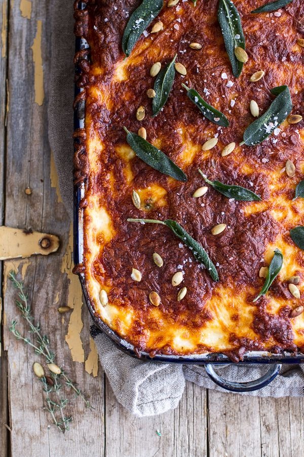 spring coat Simple Caramelized Butternut Squash and Kale Florentine Lasagna  halfbakedharvest com  hbharvest