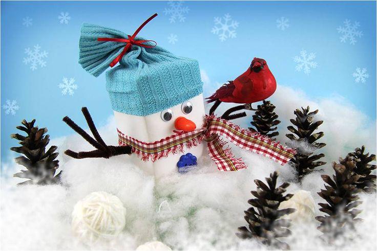 Tea Box Snowman Teabox Snowman3