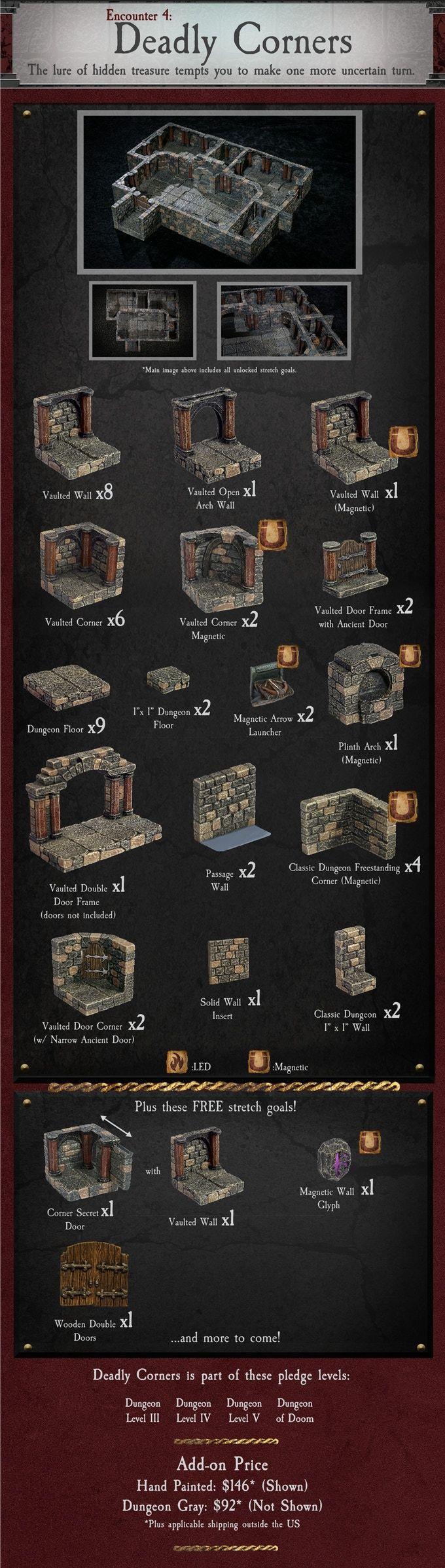 Dungeon of Doom: Handcrafted Game Terrain by Dwarven Forge by Dwarven Forge — Kickstarter