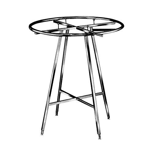 Econoco Round Folding Rack Durable Adjustable Height Large