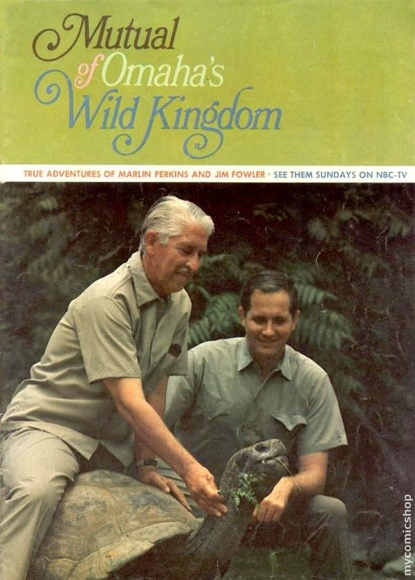 before Animal Planet and the Discovery Channel there was Mutual of Omaha's Wild Kingdom with Marlin Perkins and Jim Fowler