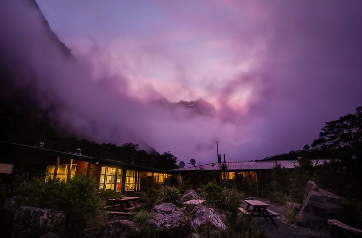 The Lodge at Milford Sound from #treyratcliff at www.StuckInCustoms.com - all images Creative Commons Noncommercial.