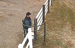 """FARM SHOW - Walk-Through """"C"""" Gate Leaves Hands Free"""