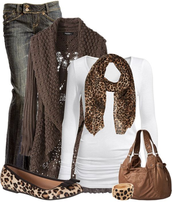 """Leopard Love"" by cindycook10 ❤ liked on Polyvore"