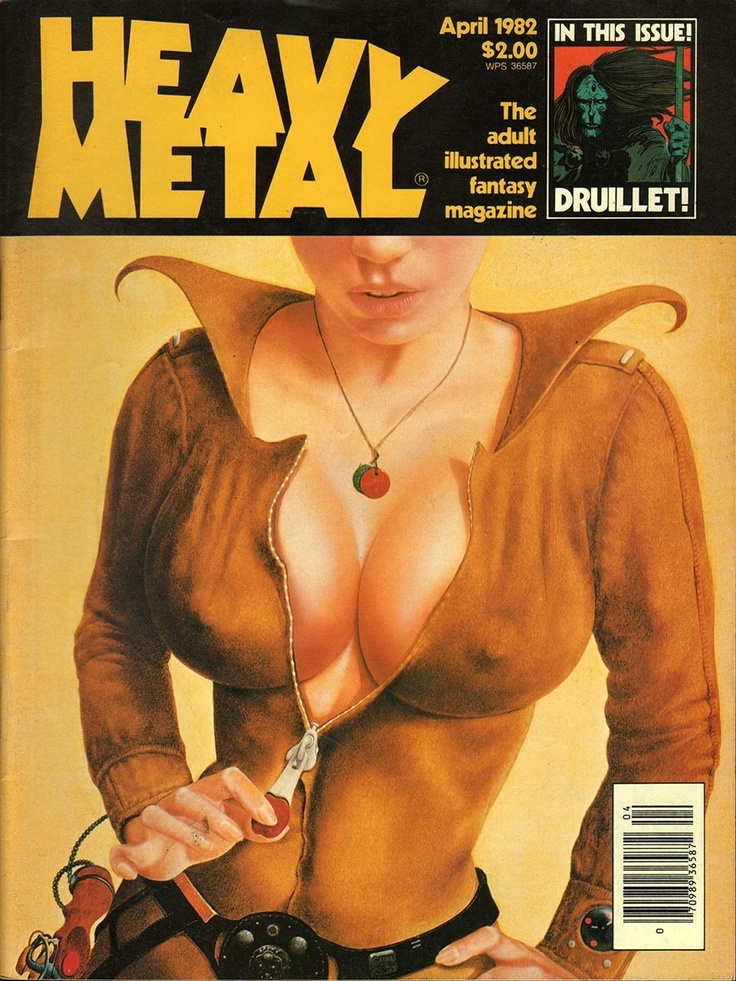 item details: Entire Issuekeywords: Moebius, Bilal, Druillet, Haggard All of our vintage magazines have been stored in a dry, acid free environment.