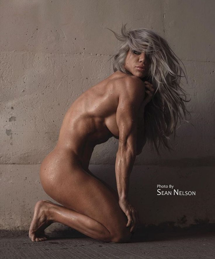 sexy fitness female nude