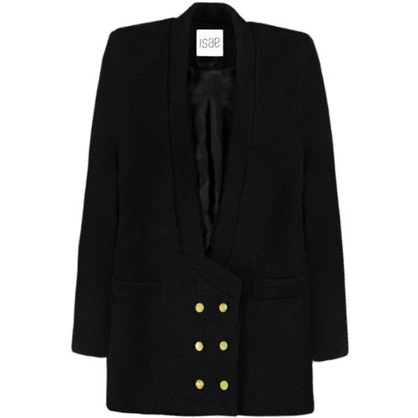 ISAE STUDIO Clea blazer (€745) ❤ liked on Polyvore featuring outerwear, jackets, blazers and blazer jacket