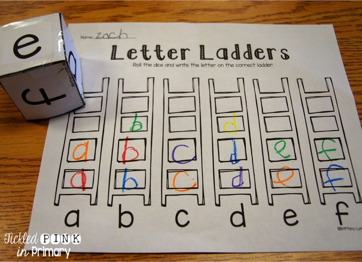 Letter Ladders helps students practice writing their letters with