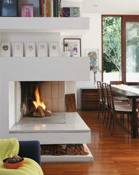 6 lareiras para aquecer a casa - Casa
