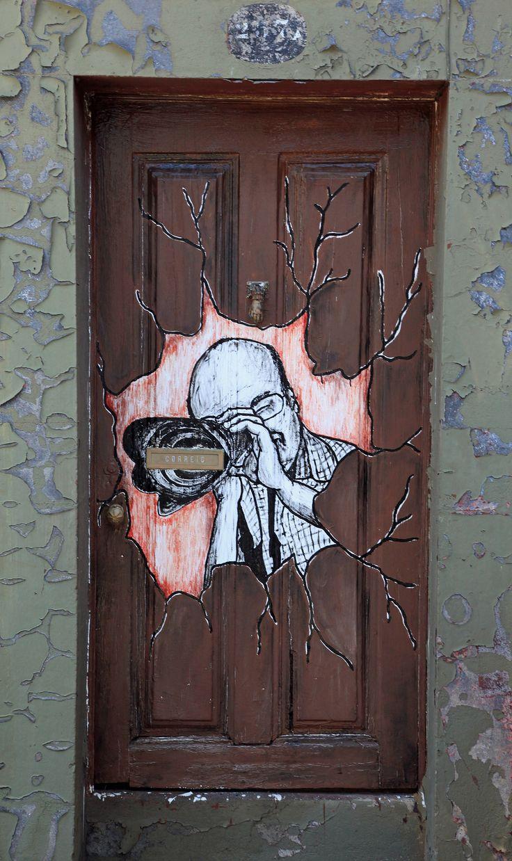 Photographer's door ... - Funchal, Madeira - Portugal