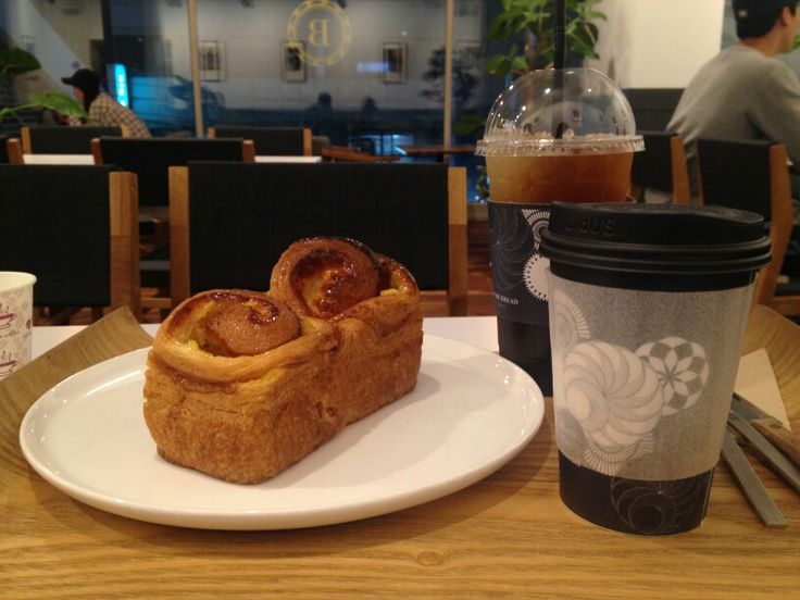 Boon The Bread #bakery #밤페스츄리 #iceamericano #cafe #coffee #americano #chestnut #pastry