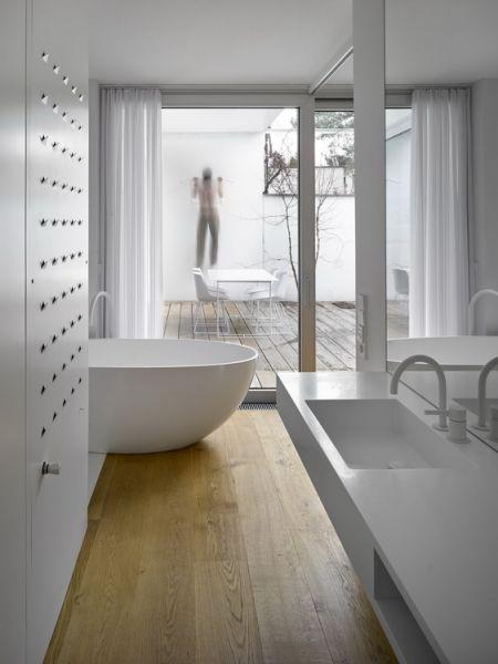 RD Na Zelenem pruhu   D3A d3a.cz   white furniture, oak, interior, design