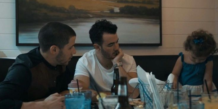 Nick and Kevin Jonas and Alena Rose
